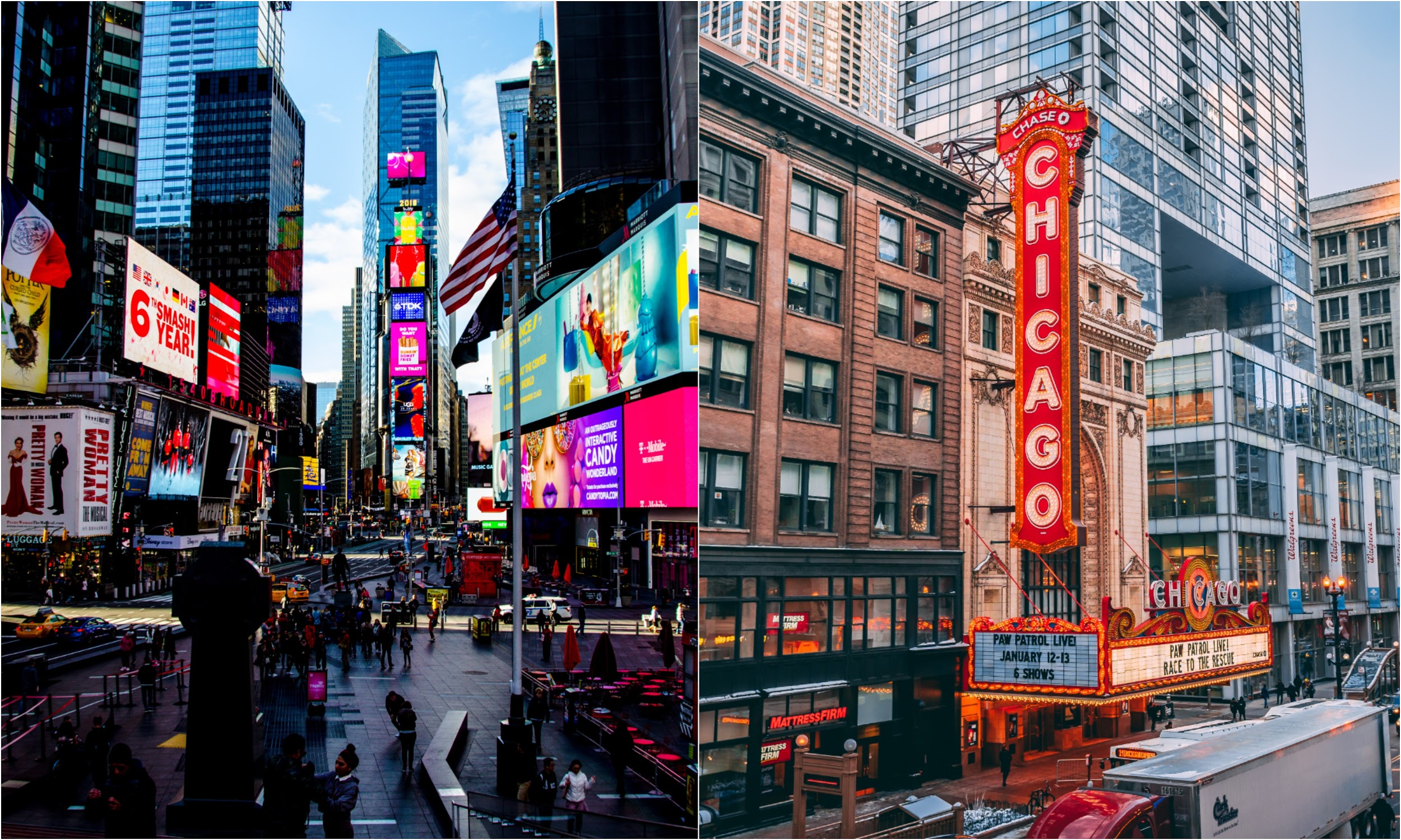 New York- Chicago