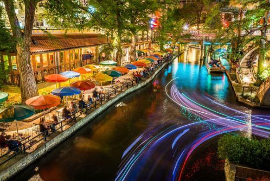 budget travel destination, San Antonio Riverwalk