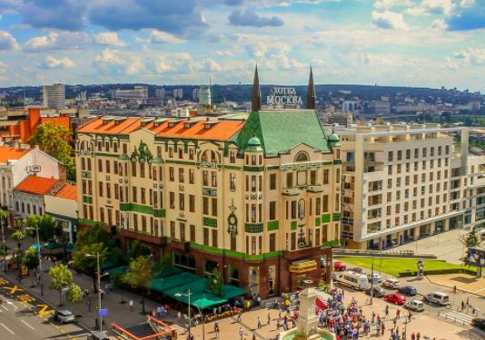 Serbia, budget places to travel 2021